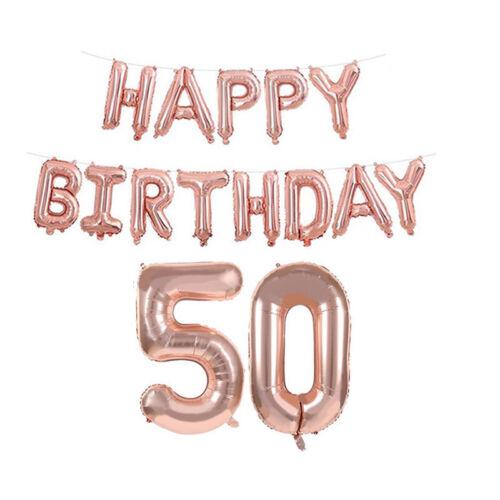 16//18//21st//30//40//50//60th Happy Birthday Alles Gute Zum Geburtstag Luftballon DE