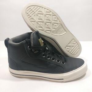 0e9ae9f4796e Mens Converse Chuck Taylor All Star Asylum Mid Black Egret Shoes ...