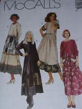 UNCIRCULATED 1996 McCALL/'S #8170-LADIES LOOSE SCOOP NECKLINE DRESS PATTERN 10-20
