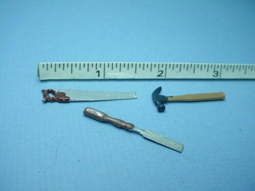 Miniature Handyman/'s Tool Set 7 6 pc Reynolds Painted Metal