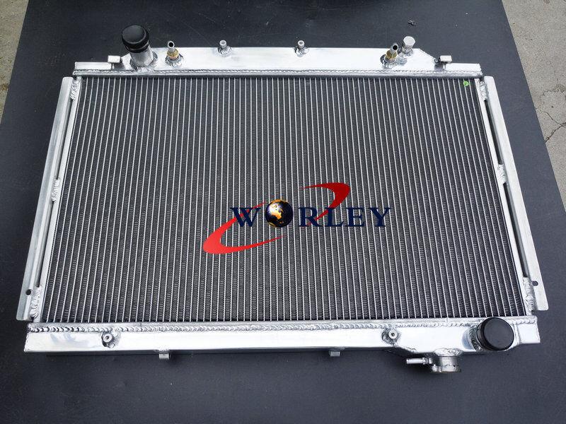 FIT Aluminum radiator TOYOTA Land cruiser HDJ80 HZJ80 1HZ//1HD 4.2L Diesel 90-97