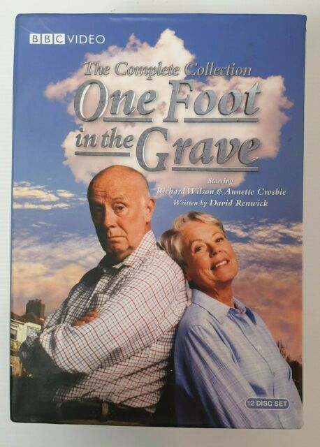 One Foot In The Grave - Complete Collection (DVD, 2011, 12-Disc Set)