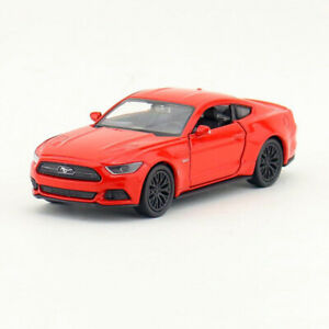 Ford-Mustang-GT-2015-1-36-Model-Car-Metal-Diecast-Gift-Toy-Vehicle-Kids-Red