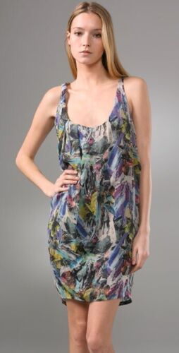 Acne free stoned 100% silk dress Sz 40 M