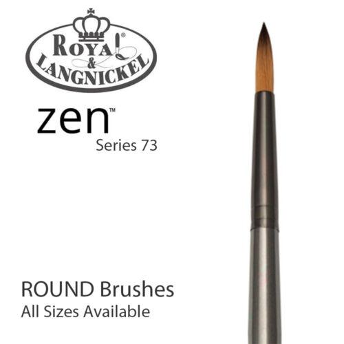 Rund Royal /& Langnickel Zen Alle Mischtechnik Farben Bürste S73 10 Sizes