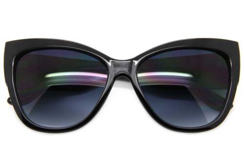 Cat Eye Stylish Big Large Oversized Women Sunglasses Retro Thick Frame Fashion