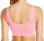 thumbnail 3 - Cabales Women's 3-Pack Seamless Wireless Sports Bra W/Removable Pads 3 Colors L
