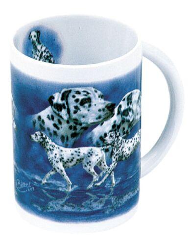 Keramiktasse Tasse Hundemotiv neu Collection Boetzel Dalmatiner 57214