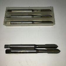 38 16 Unc Spiral Point Tap Plug 3 Flute Hss N Tap Coated Fette