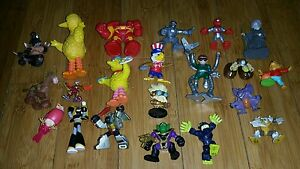 Big-Lot-of-17-Disney-Figures-Figurines-Free-Shipping-Hook-Monsters-and-more