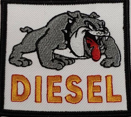 Bulldog Patch DEVIL DOG Tactical DIESEL Emblem W// VELCRO® Brand Fastener