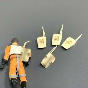 Lot 5 Knapsack For 3.75'' Star wars Battle droid action Figures Toy The Clone #4