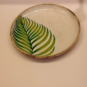 Round-serving-tray-dinnerware-plate-handpainted-serving-dish-wooden-serving-tray
