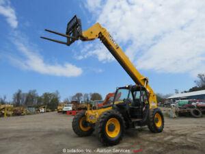 2013 JCB 507-42 7,000 lbs Telescopic Reach Forklift Telehandler bidadoo