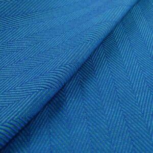 Size 2 DIDYMOS Woven Wrap Baby Carrier Lisca//Herringbone Azzurro Organic Cotton