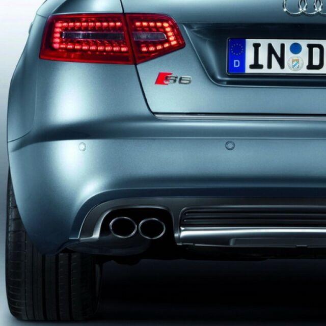 Audi A6 Saloon Rear Parking Sensor Aid Retrofit Kit 4F0054630A Genuine Audi