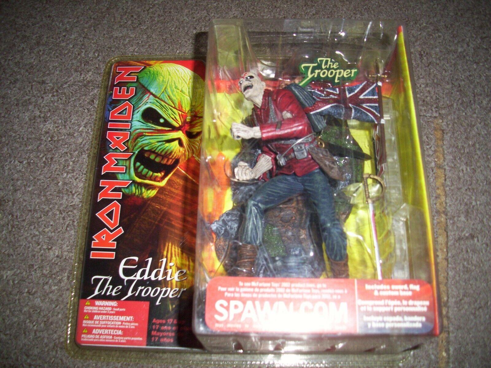 Iron Maiden  Eddie The Trooper Figure  Spawn Macfarlane. still sealed