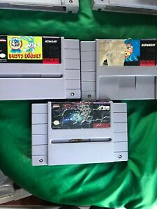 Tiny-Toon-Adventures-Buster-Busts-Loose-Super-R-Type-amp-Animaniacs-SNES