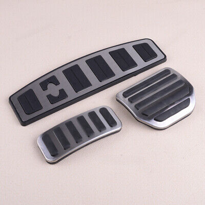 Stainless Steel MYMOCCY Foot Rest Pedal Brake Fuel Gas Pad Cover for Land Rover Discovery 3//4 LR3//LR4 2005-2016Range Rover Sport 2005-2013 L320 No Drill