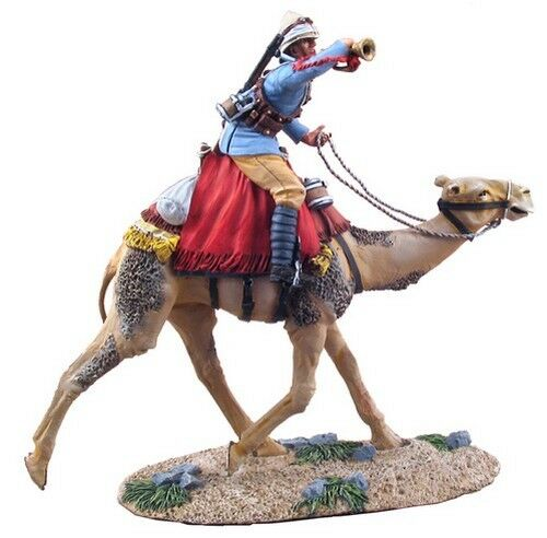 William Britain 27042 British Camel Corps Bugler Mounted Mounted Mounted Charging No 1 d721f7