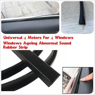 4m Rubber Strip Air Seal Car Sunroof Window Glass Edge Trim For 4Windows