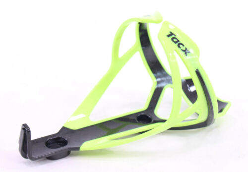 NEW Tacx Deva Bottle Cage Polyamide Bicycle Bike Water Fluo Yellow w// Black