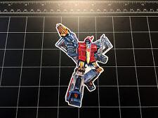 Transformers G1 Swoop box art vinyl decal sticker Autobot dinobots 1980's 80s
