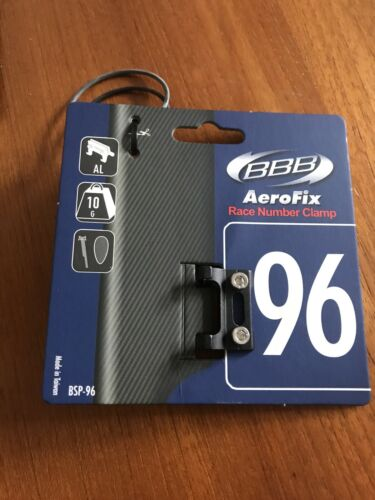 BBB AeroFix Race Number Plate Clamp BSP-96 For Bike Aero Seatposts