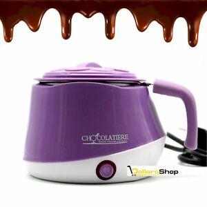 Set Cioccolatiera per Fonduta di Cioccolata con stampi in silicone cioccolato