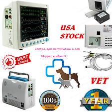 Usa Fedex Vet Icu Patient Monitor Veterinary Multi Parameter Ccu Cms8000 Vet Fda