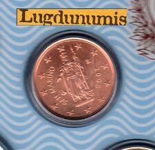 Saint Marin 2005 - 2 Centimes D'Euro - 70 000 exemplaires Provenant du BU RARE