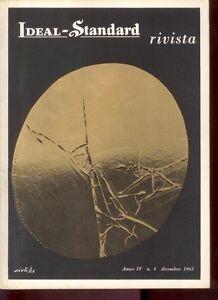 IDEAL STANDARD N. 4 -12/1962- Numero Speciale DIZIONARIO DELLA CERAMICA - Z1