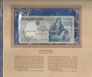 Most Treasured Banknotes Portugal 100 escudos 1981 P 178b UNC LOW AFG08556