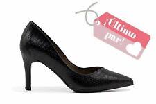 Zapato de tacón serpiente negro - Patricia Miller