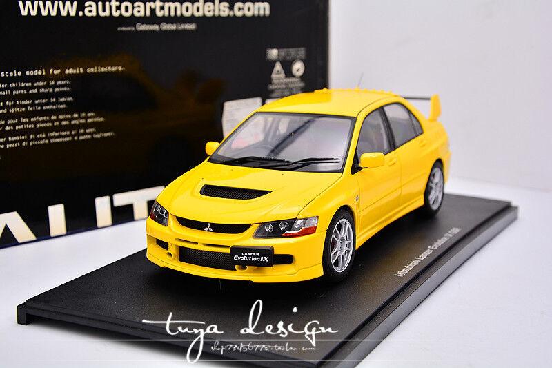 punto de venta Autoart Autoart Autoart 1 18 Mitsubishi Lancer Evolution IX evolución EVO9 GSR  Venta en línea precio bajo descuento