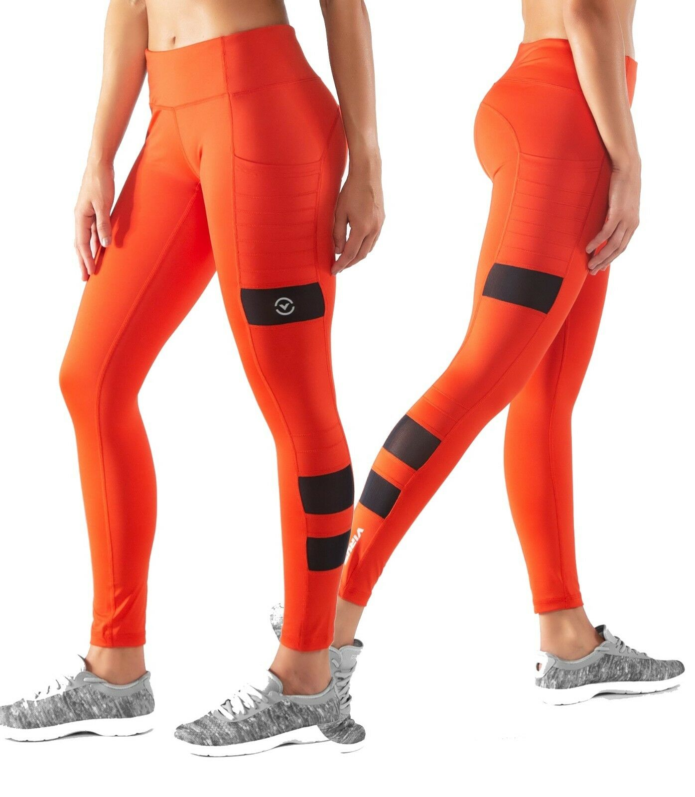 Virus Damenschuhe ECO40 STAY COOL ZEPU MESH PANT - Blood Orange Crossfit Yoga