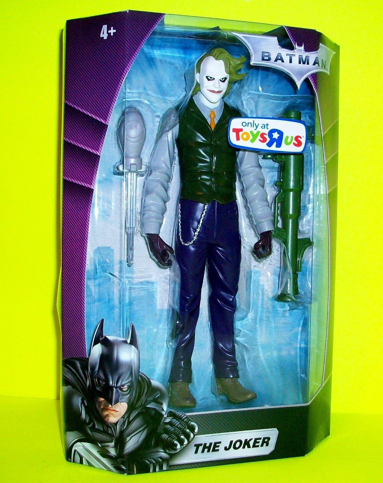 Batman The Dark Knight Joker Action Figure Toys R Us Heath Ledger Film Version