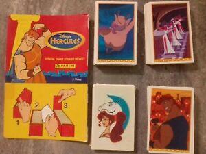 Panini Hercules 1997 complete stickers set 232/232