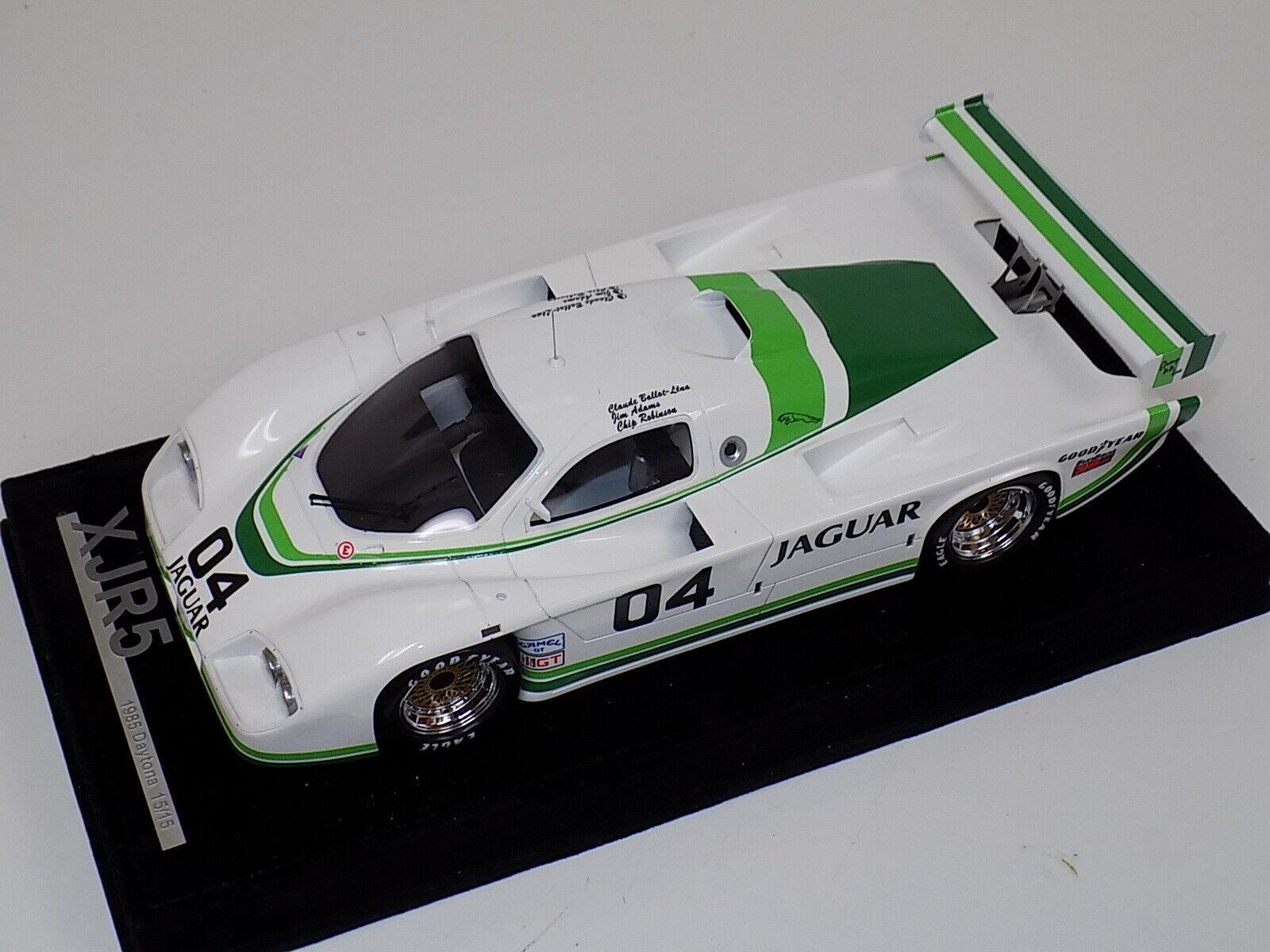 1 18 AB Modèles Jaguar XJR5 1985 24 H DE DAYTONA voiture  04 Night Time  15 15