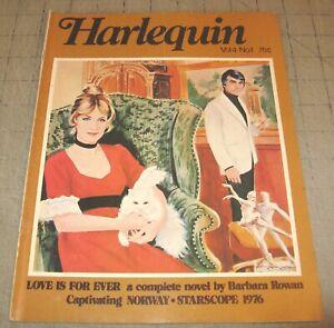 HARLEQUIN Vol 4 #1 (1975) Good- Condition Magazine - Love is Forever Novel