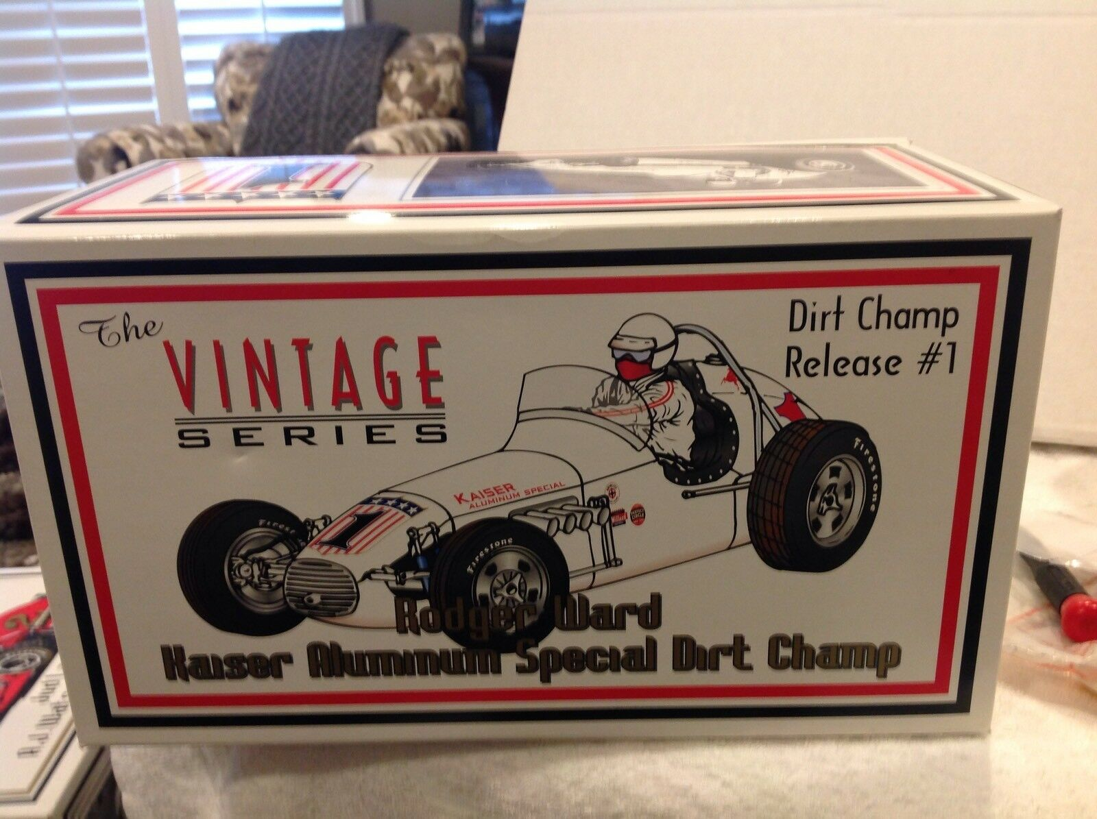GMP Rodger Ward Kaiser Aluminum Special Dirt Champ 1 18 Scale 1 of 3,900