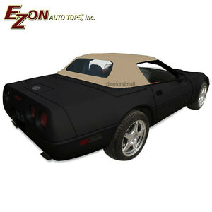 Image Is Loading Chevy Corvette C4 1986 1996 Convertible Soft Top