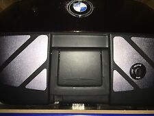 BLACK REFLECTIVE STICKER KIT TO FIT BMW 49 LITRE TOP TOPCASE R1200RT R1200 S/ST