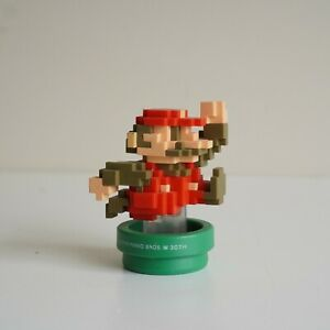 Nintendo Amiibo 8 Bit 30th Anniversary Super Mario 8-Bit Figure Classic Colour