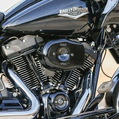 Air filter kit for harley-davidson milwaukee eight s/&s stealth air cleaner kit