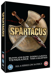 Spartacus-The-Complete-Collection-DVD-2015-Andy-Whitfield-cert-18-14-discs
