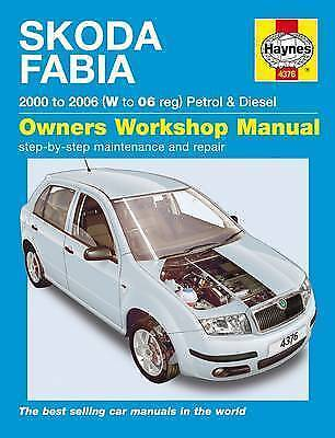 1 of 1 - Skoda Fabia Petrol and Diesel Service and Repair Manual: 2000 to 2006 (Service &
