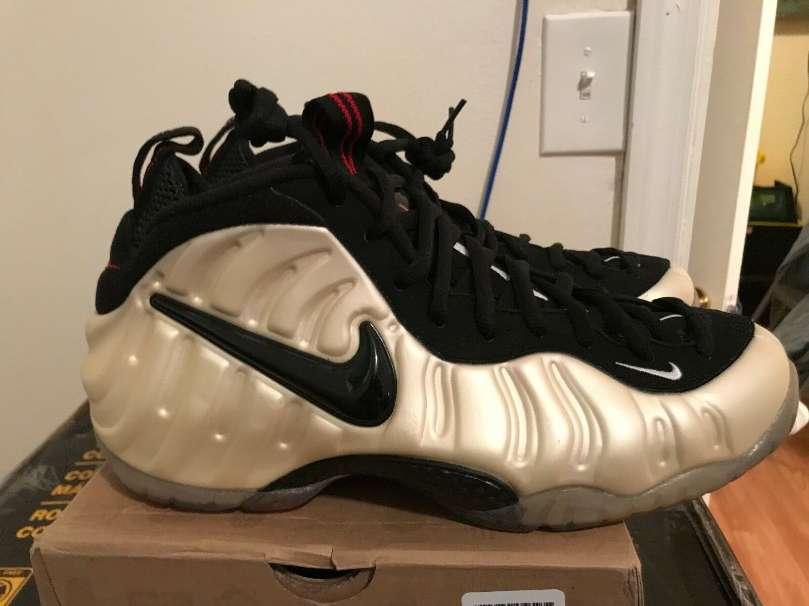 DS NIKE AIR FOAMPOSITE PRO 2010 Release  PEARLS  Classic Rare Size 11