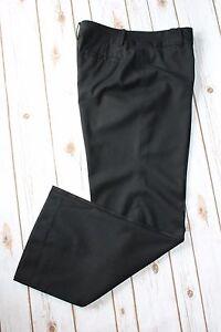 Ann-Taylor-Pants-10-Trouser-Work-Black-Wool-Cashmere-Blend-Career-32-034-Inseam