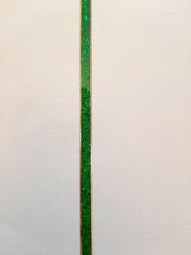 lignes nº 1293 Sticker Arc vert paillettes